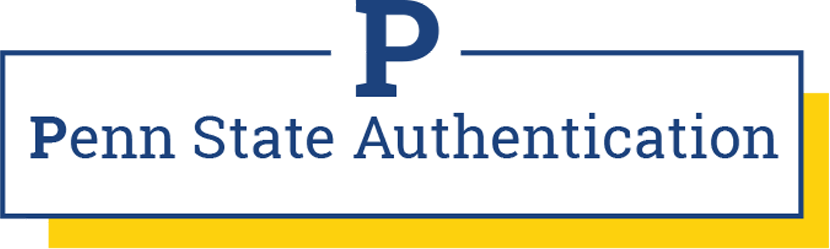P: Penn State Authentication